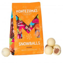 Montezumas Orange Snowballs - 150g