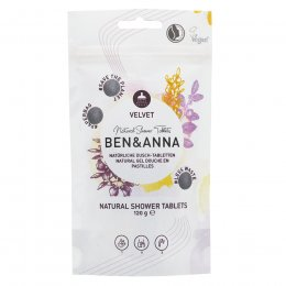 Ben & Anna Shower Gel Tablets Velvet - 120g