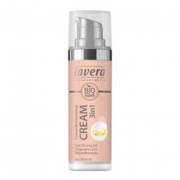 Lavera 3 in 1 Tinted Moisturising Cream Q10 - Ivory Rose - 30ml