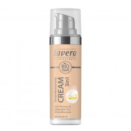 Lavera 3 in 1 Tinted Moisturising Cream Q10 - Ivory Nude - 30ml