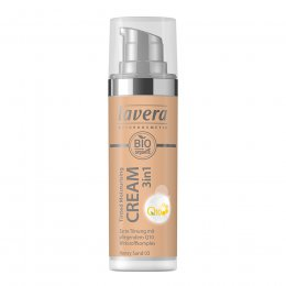 Lavera 3 in 1 Tinted Moisturising Cream Q10 - Honey Sand - 30ml