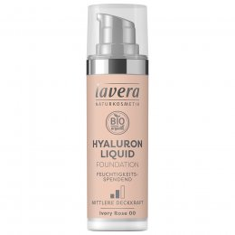 Lavera Hyaluron Liquid Foundation - Ivory Rose - 30ml