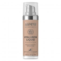 Lavera Hyaluron Liquid Foundation - Honey Beige - 30ml