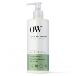 Organic Works Bergamot Hand & Body Lotion - 300ml
