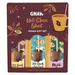 Gnaw Hot Choc Shot Gift Set - 150g