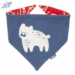 Kite Snow Bear Bib