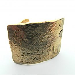 La Jewellery Recycled Brass Rachael Ring