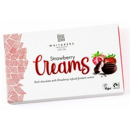 Whitakers Strawberry Creams - 150g