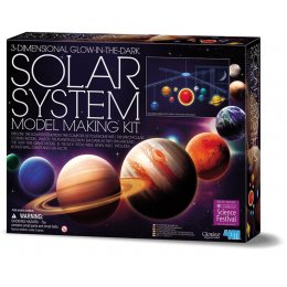 3D Glow in the Dark Solar System Mobile Making Kit