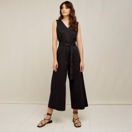 People Tree Vesta Jumpsuit - Black