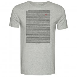 Green Bomb Mole Meadow T-Shirt - Heather Grey