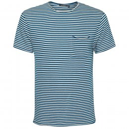 Green Bomb Sailor Blue Stripe T-Shirt