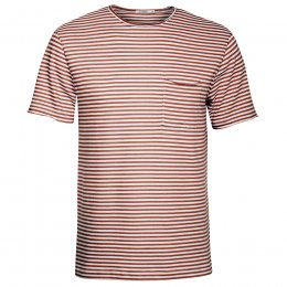 Green Bomb Brown Stripe T-Shirt