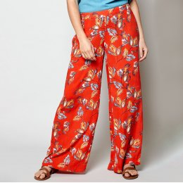 Nomads Mango Aquarelle Wide Leg Trousers