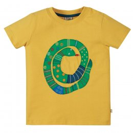 Frugi Avery Snake Applique Top