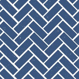 Maemara Herring Fabric by the Meter - Navy