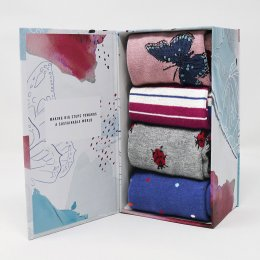 Thought Ellie Wildlife Bamboo Sock Gift Box
