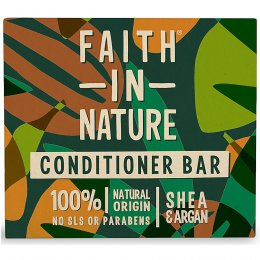 Faith in Nature Shea & Argan Conditioner Bar - 85g