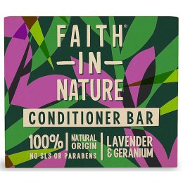 Faith in Nature Lavender & Geranium Conditioner Bar - 85g