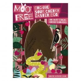 Moo Free Organic Vegan Sour Cherry Easter Egg - 140g