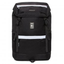 Lefrik Mountain Recycled Backpack - Black