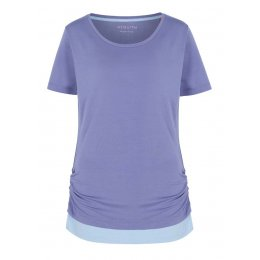 Asquith Bend It Tee - Azure