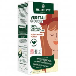 Herbatint Vegetal Semi Permanent Hair Colour - Pure Caramel Power - 100g