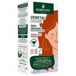 Herbatint Vegetal Semi Permanent Hair Colour - Henna Love Power - 100g