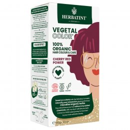 Herbatint Vegetal Semi Permanent Hair Colour - Cherry Red Power - 100g