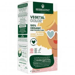 Herbatint Vegetal Semi Permanent Hair Colour - Honey Blonde Power - 100g