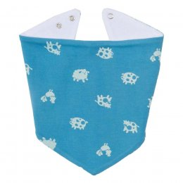 Kite Polka Farm Bib - Blue