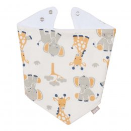 Kite Giraffe And Ele Bib