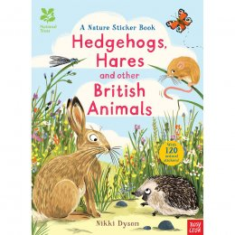 Nature Sticker Book: Hedgehogs, Hares and Other British Beasts