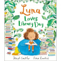 Luna Loves Library Day Paperback Book