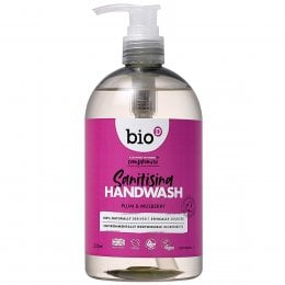 Bio D Sanitising Hand Wash - Plum and Mulberry - 500ml