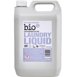 Bio D Concentrated Non-Bio Laundry Liquid - 5L - 125 Washes