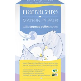 Natracare Organic Cotton New Mother Maternity Pads - 10
