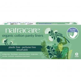 Natracare Organic Cotton Panty Liners - Ultra Thin - 22