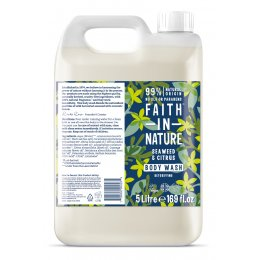 Faith In Nature Seaweed & Citrus Body Wash - 5L