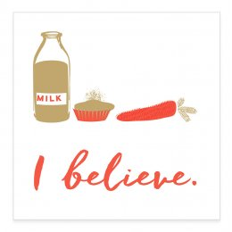 I Believe Charity Christmas Cards - Pack of 10
