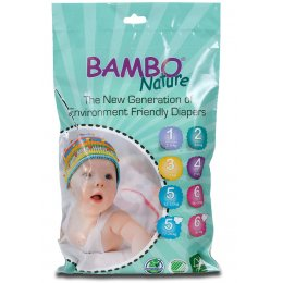 Bambo Nature Disposable Nappy Travel Pack - Maxi - Size 4