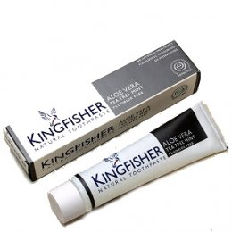 Kingfisher Aloe Vera  Tea Tree & Mint Toothpaste (Fluoride Free) - 100ml