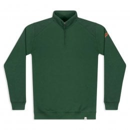 Men's Nevis Quarter Zip Sweatshirt - Greener Pastures