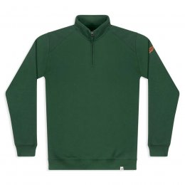 Women's Nevis Quarter Zip Sweatshirt - Greener Pastures