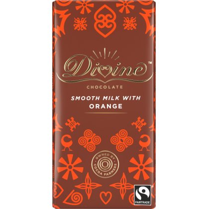 Divine Orange Milk Chocolate