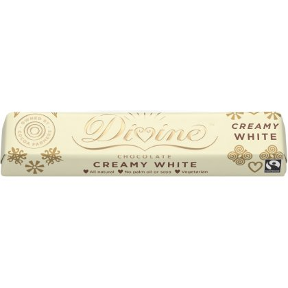 Divine White Chocolate Small Bar