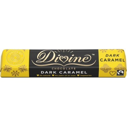 Divine Caramel Dark Chocolate Small Bar