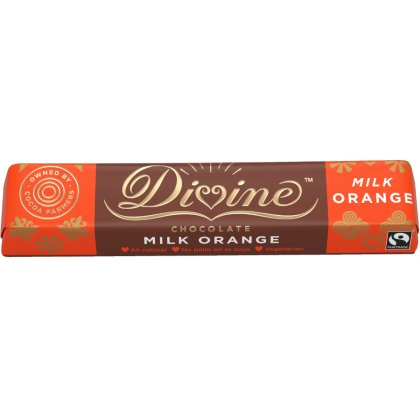 Divine Orange Milk Chocolate Small Bar