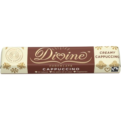 Divine Milk & White Chocolate Cappuccino Small Bar