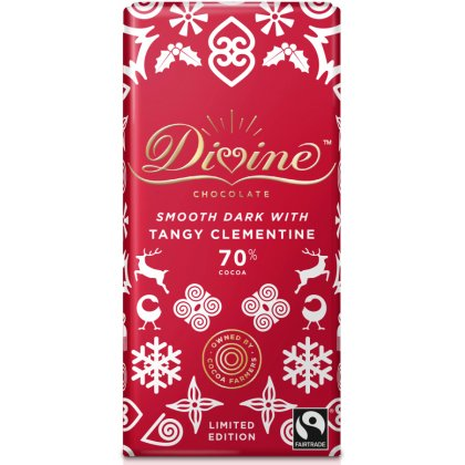 Limited Edition Dark Chocolate with Tangy Clementine - 90g